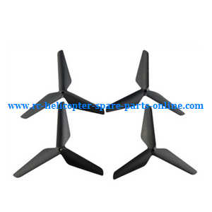 SYMA x5 x5a x5c x5c-1 RC Quadcopter spare parts upgrade Three leaf shape blades (Black)