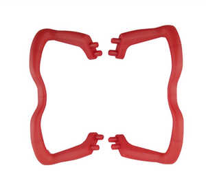 SYMA x5 x5a x5c x5c-1 RC Quadcopter spare parts skid landing (Red)