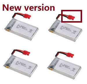SYMA x5 x5a x5c x5c-1 RC Quadcopter spare parts battery (New version) 4pcs