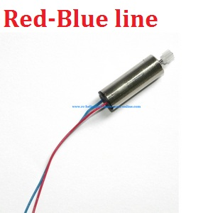 SYMA x5 x5a x5c x5c-1 RC Quadcopter spare parts motor (Red-Blue line)