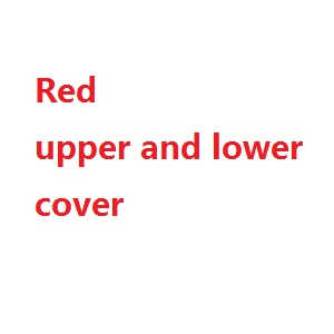 Syma x5u x5uw x5uc quadcopter spare parts upper and lower cover (Red)