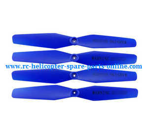 Syma x5uw-d quadcopter spare parts main blades propellers (Blue)