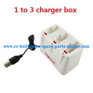 Syma x5uw-d quadcopter spare parts 1 to 3 charger box