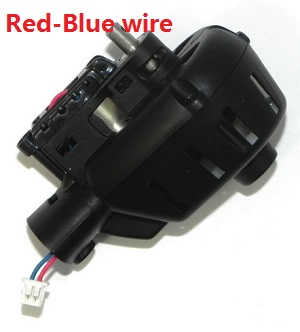 MJX X-series X600 quadcopter spare parts main gear and motor set (Black deck & Red-Blue wire)