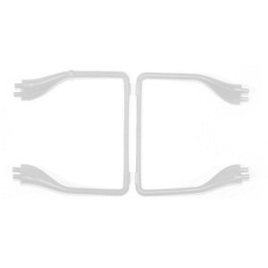 MJX X-series X705C X705 quadcopter spare parts undercarriage landing skid (White)