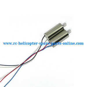 MJX X-series X705C X705 quadcopter spare parts motor (1* red-blue wire + 1* black-white wire)