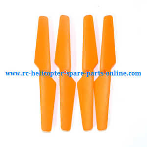 MJX X-series X705C X705 quadcopter spare parts main blades propellers (Orange)