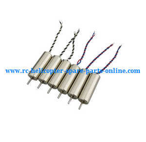MJX X-series X800 quadcopter spare parts main motor set (3*Black-White wire + 3*Red-Blue wire)