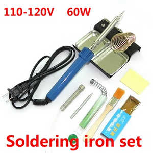 MJX X-series X800 quadcopter spare parts 8-In-1 Voltage 110-120V 60W soldering iron set