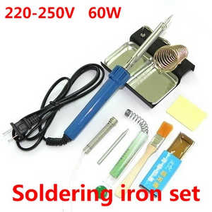 MJX X-series X800 quadcopter spare parts 8-In-1 Voltage 220-250V 60W soldering iron set