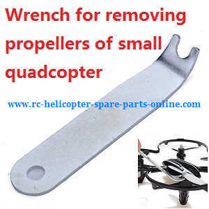 MJX X-series X800 quadcopter spare parts Wrench for removing propellers of small quadcopter
