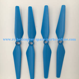 Syma X8PRO GPS RC quadcopter spare parts main blades (Blue)