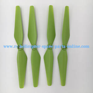 Syma X8PRO GPS RC quadcopter spare parts main blades (Green)