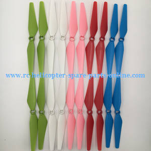 Syma X8PRO GPS RC quadcopter spare parts main blades (5 colors)