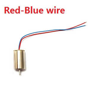 MJX X906T RC quadcopter spare parts motor (Red-Blue wire)
