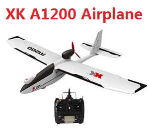 XK A1200 2.4GHz 3D6G System Brushless Motor EPO Foam Fixed-wing RC Airplane