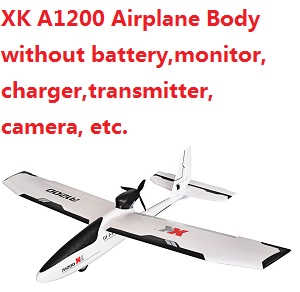 XK A1200 Airplanes without transmitter,battery, charger,monitor,camera,etc.