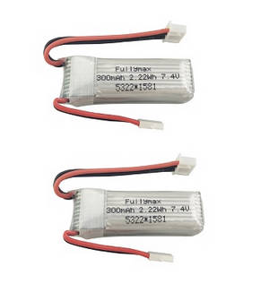 XK A430 RC Airplane Drone spare parts 7.4V 300mAh battery 2pcs