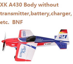 XK A430 Body without transmitter,battery,charger,etc. BNF