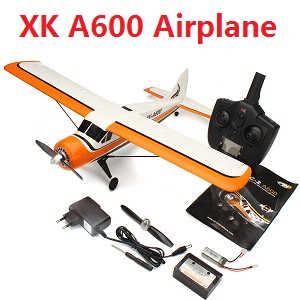 XK DHC-2 A600 5CH 3D6G System Brushless RC Airplane