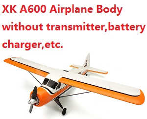 XK A600 Airplanes Body without transmitter,battery,charger,etc.