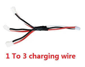 XK A700 RC Airplanes Helicopter spare parts 1 To 3 charging wire