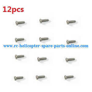 XK A700 RC Airplanes Helicopter spare parts secrews (12pcs)