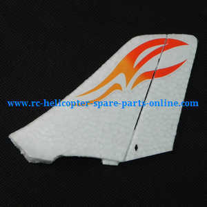 XK A700 RC Airplanes Helicopter spare parts Vertical decorative (Red-White)