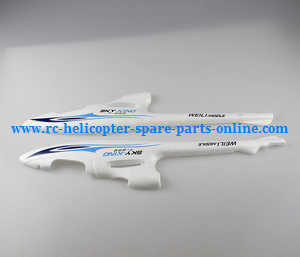 XK A700 RC Airplanes Helicopter spare parts body cover set (Blue-White)
