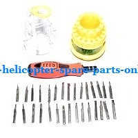 XK A700 RC Airplanes Helicopter spare parts 1*31-in-one Screwdriver kit package