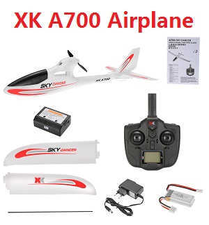 XK A700 Sky Dancer 2.4G 3CH 750mm Wingspan Fixed-wing RC Airplane