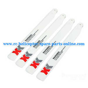 XK K124 RC helicopter spare parts main blades