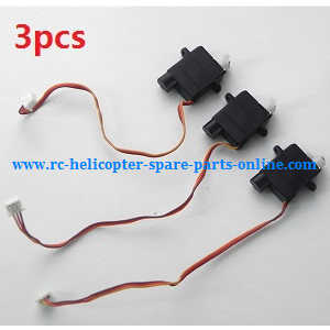 XK K124 RC helicopter spare parts SERVO 3pcs