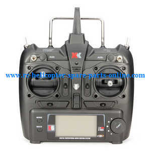 XK K124 RC helicopter spare parts remote controller transmitter