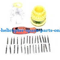 XK K124 RC helicopter spare parts 1*31-in-one Screwdriver kit package