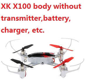 XK X100 body without transmitter,battery,charger,etc.