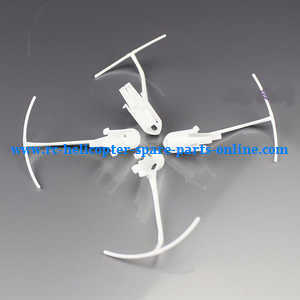 XK X100 quadcopter spare parts motor deck and protection frame