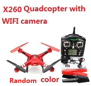 XK X260 RC quadcopter with WIFI camera