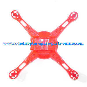 XK X260 X260-1 X260-2 quadcopter spare parts lower cover (Red)