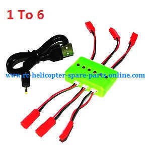XK X260 X260-1 X260-2 quadcopter spare parts 1 to 6 charger box and USB wire