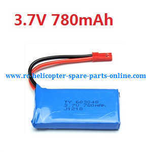 XK X260 X260-1 X260-2 quadcopter spare parts battery 3.7V 780mAh