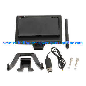 XK X500 X500-A quadcopter spare parts 5.8G FPV monitor