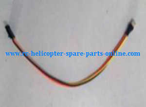 XK X500 X500-A quadcopter spare parts connect wire for the FPV