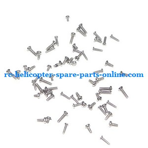 Attop toys YD-711 AT-99 RC helicopter spare parts screws set