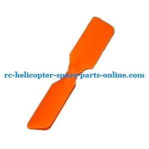 Attop toys YD-811 YD-815 RC helicopter spare parts tail blade (Orange)