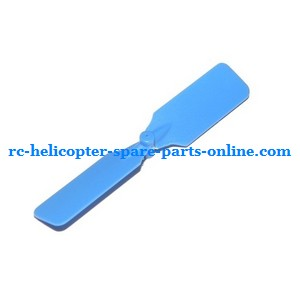 Attop toys YD-811 YD-815 RC helicopter spare parts tail blade (Blue)