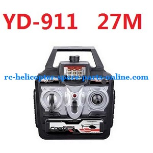 Attop toys Defender YD-911 YD-911C RC helicopter spare parts transmitter (YD-911 27M)
