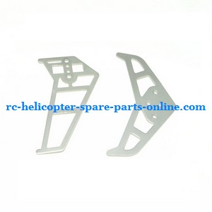 YD-913 YD-915 YD-916 RC helicopter spare parts tail decorative set (silver)