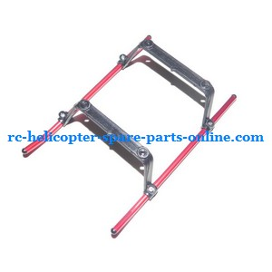 YD-913 YD-915 YD-916 RC helicopter spare parts undercarriage (Red)