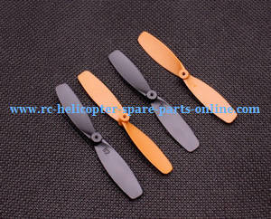 Yi Zhan X4 RC Quadcopter spare parts main blades (Black-Orange)